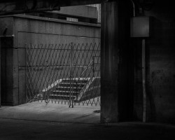 Lower Wacker, stairs