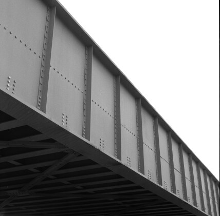 Metra Bridge, Washington Street, Evanston