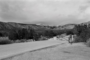 Closed Road, Ghost Ranch, Abiquiu, New Mexico
