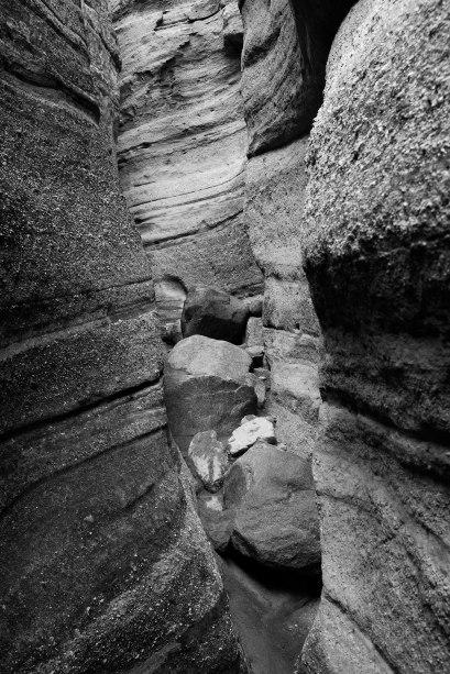 Channel With Rocks, Kasha-Katuwe Tent Rocks National Monument
