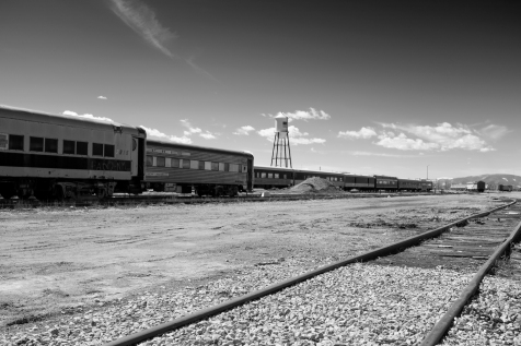 Train Yard, Alamosa, Colordo