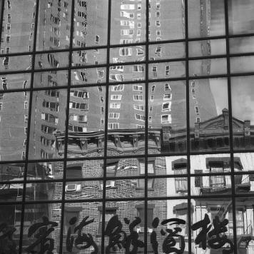 Chinatown Reflection